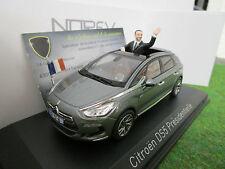 CITROEN DS5 PRESIDENTIELLE gris 1/43 NOREV 155593 voiture miniature d collection