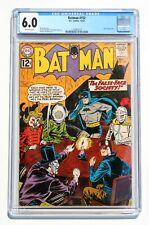 CGC 6.0 BATMAN #152 * 1962 Silver Age DC Comic * Joker appearance * OW Pages