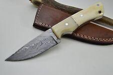 Taschenmesser Damastmesser Jagdmesser Messer Bowie Damast Kamelknochen TOP #1