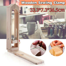 Us Diy Leather Craft Hand Stitching Sewing Lacing Horse Clamp Desktop Table