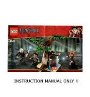 LEGO 4865 - HARRY POTTER - THE FORBIDDEN FOREST - INSTRUCTION MANUAL