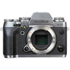 FUJIFILM X-T1 Mirrorless Digital Camera Body Only (Graphite Silver)