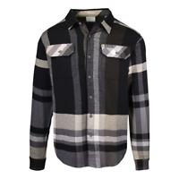 Columbia Men's Omni-Wick Flare Gun Stretch Plaid L/S Flannel Shirt (010)