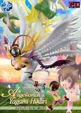 MegaHouse G.E.M. Digimon Adventure Yagami Hikari & Angewomon PVC Figure FM3614