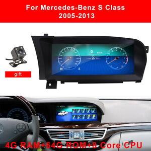 For Mercedes Benz S Class W220 S280 S320 S550 S600 S63 Car GPS Navigation Radio