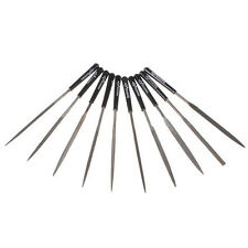 10Pcs 3X140mm Needle File Set Shapes Metal Wood Hobby DIY Model Fix Repair Tool