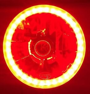 Red Halo Headlamp for Toyota Corolla KE10 KE20 KE30 KE55 HiLux HiACE Honda Civic