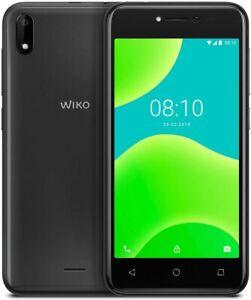 "Wiko Y50 Italia Smartphone, Android 8.1 Oreo, Display 5"" inch, 1/16GB DARK GREY"