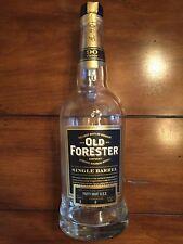 Empty Old Forester Single Barrel Bourbon Bottle
