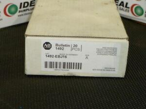 Allen Bradley 1492-EBJ16  End Barriers Box Of 20 NEW IN BOX