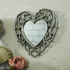 Silver Plastic Frame Decorative Mirrors
