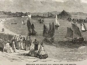 Antique Prints/engravings,  CORNWALL . Private  COLLECTION FOR SALE