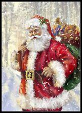 Santa Claus 31 - Chart Counted Cross Stitch Patterns Needlework DIY DMC Color