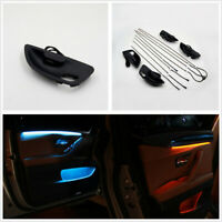 Blue & Orange LED Car Inner Door Decor Light Ambient Lamp Strip For BMW F10 F11