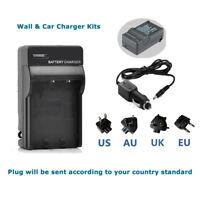 Battery Charger for Panasonic Lumix Camera DMC-FT20 DMC-FT25 DMC-FT30