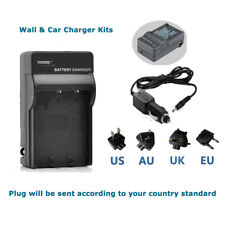 Battery Charger for Panasonic Lumix Camera DMC-FT20 DMC-FT25 DMC-FT30