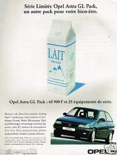Publicité advertising 1997 Opel Astra GL Pack