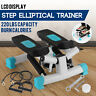 Mini Stepper Machine Air Stair Climber Step With Monitor INDOOR Elliptical GYM