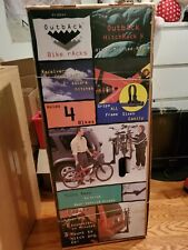 Bike rack hitch mount used