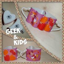 Ensemble de Mugs Disney - Rose - Lot de 2 Tasses - Mickey et Minnie - Amoureux -