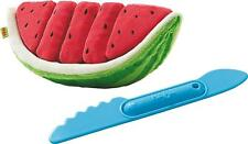 Kids Play Food Watermelon Plush Washable Toy Slices Gift Toddler Boy Girl NEW