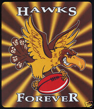 1  x HAWTHORN HAWKS OR OTHER AUSSIE RULES MOUSE MAT / SMALL PLACE MAT