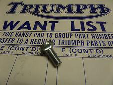 82-9387 TRIUMPH T120R T100R 650 500 STEPPED CHAINGUARD S/ARM BOLT UNF 1969-74