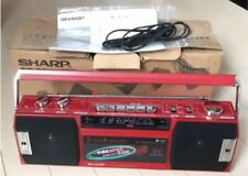 BRAND NEW Sharp QT-S2-RD  Boombox RED With BOX JAPAN RARE
