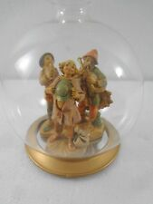 Fontanini Blown Glass Ornament Christmas Holiday 3 Shepards 56185 7 inches