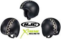 HJC IS-5 Burnout Helmet Open Face Lightweight Inner Sunshield DOT XS-2XL