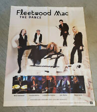 """Fleetwood Mac """"The Dance"""" 1997 Canvas Cloth Poster Promotional Banner"""