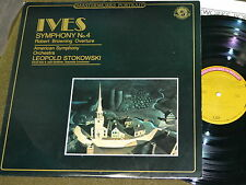Ives - Symphony No.4 - CBS Masterworks MP 38890 -  EX/EX