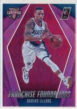 DAMIAN LILLARD - 2016-17 Totally Certified RED Franchise Foundation SP /199