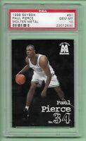 1998 SkyBox Paul Pierce #91 PSA 10 GEM MINT! Molten Metal ROOKIE CARD (RC)