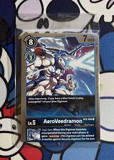 More details for aeroveedramon foil promo bt2-028 digimon tcg sealed card