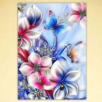 Flowers DIY 5D Full Drill Diamond Painting Embroidery Cross Stitch Home Decor