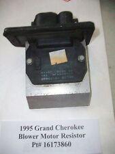 1995 95 Jeep Grand Cherokee Blower Motor Resistor Pt#  16173860  OEM#DS003