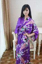Retro kimono Japanese Yukata  Robe  Gown Bath Robe Pajamas Oriental  Style
