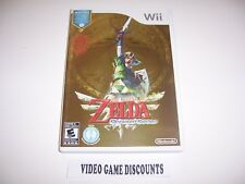 Original Box Replacement Case for Nintendo Wii - LEGEND OF ZELDA SKYWARD SWORD