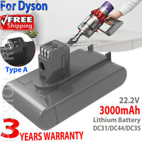 3.0Ah 22.2V Battery For Dyson Vacuum DC31 DC34 DC35 DC44 DC45 Animal (Type A) ❤