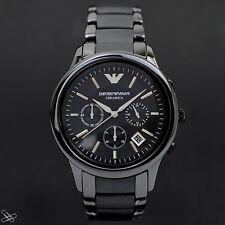 Emporio Armani MAN'S WATCH CHRONOGRAPH AR1452 Ceramica Black