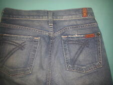 """7 For All Mankind """"Dojo"""" Capri/Cutoff Women's Jeans Size 24, inseam 25"""
