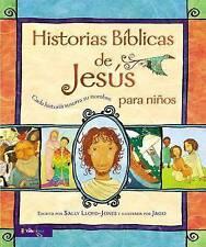 Historias Bíblicas de Jesús para niños: Cada historia susurra su nombre (Spanish