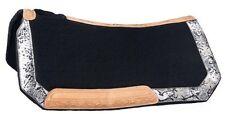 "Western Saddle Pad Blanket - Greyson Bling - Wool Contoured - 28"" x 30"""