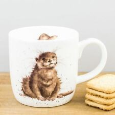 New Royal Worcester Wrendale Designs River Gent Otters Bone China Mug Coffee Cup