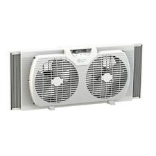 """Dual Blade Twin Window Ventilation Fan - 9"""""""