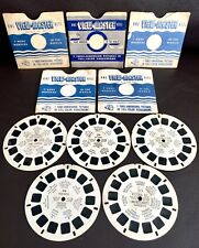Rare Set of Five 1940s Sawyer's (USA) Colour Kodachrome View-Master Reel Discs