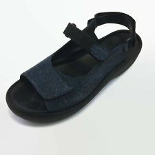 Wolky Jewel Womens Sandals Denim Canals Comfort Walking Wedge Size 41 9.5