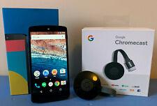 Smartphone Google LG Nexus 5 32 Go blanc + Google Chromecast 2