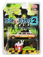 Ghostbusters Raro Modelo ECTO-1A Dirty Versión Escala 1:64 Limited Johnny Light